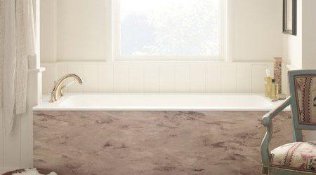 ivory bathtub